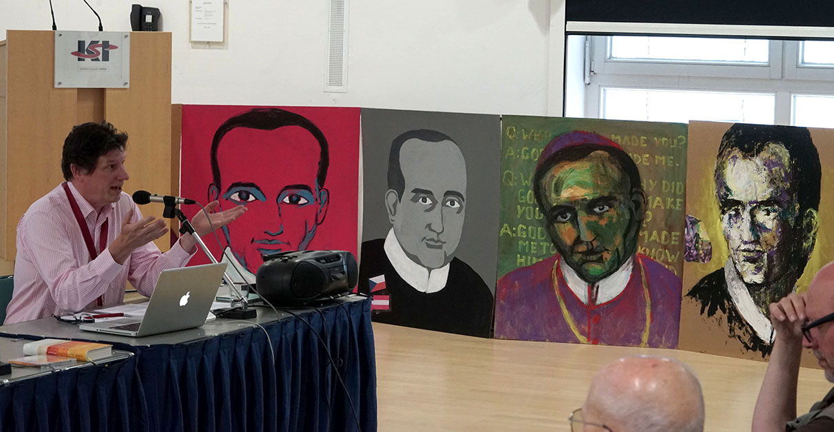 Paintings in the Conference Room