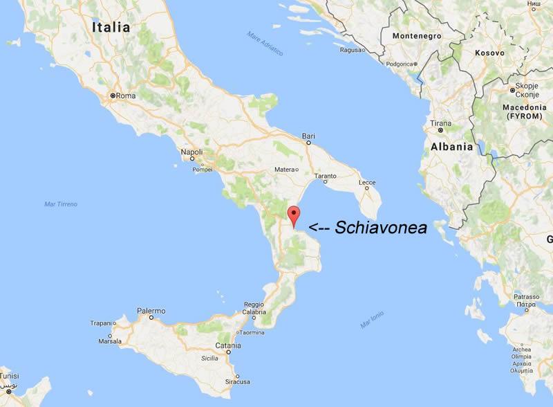 schiavonea_map