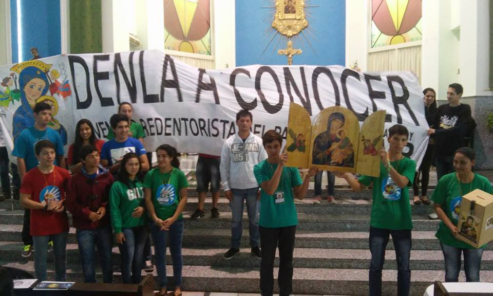 Xix Encuentro Nacional De La Pastoral Juvenil Vocacional Redentorista Pjvr En Paraguay Old News Spanish