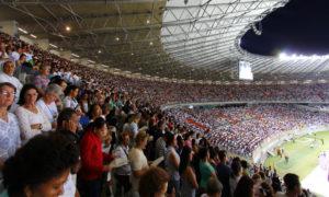 Credito marcos figueiredo/Divulgacao - 15 Torcida de Deus no estadio Mineirao