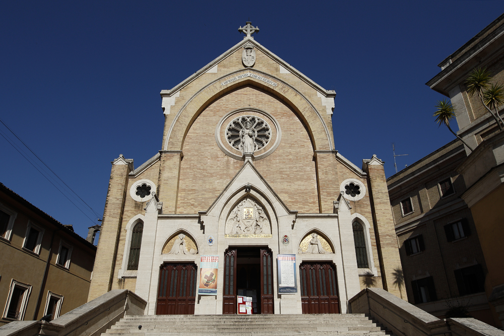 Church of St. Alphonsus Liguori in Rome May 9, 2015. (Photo by Paul Haring)