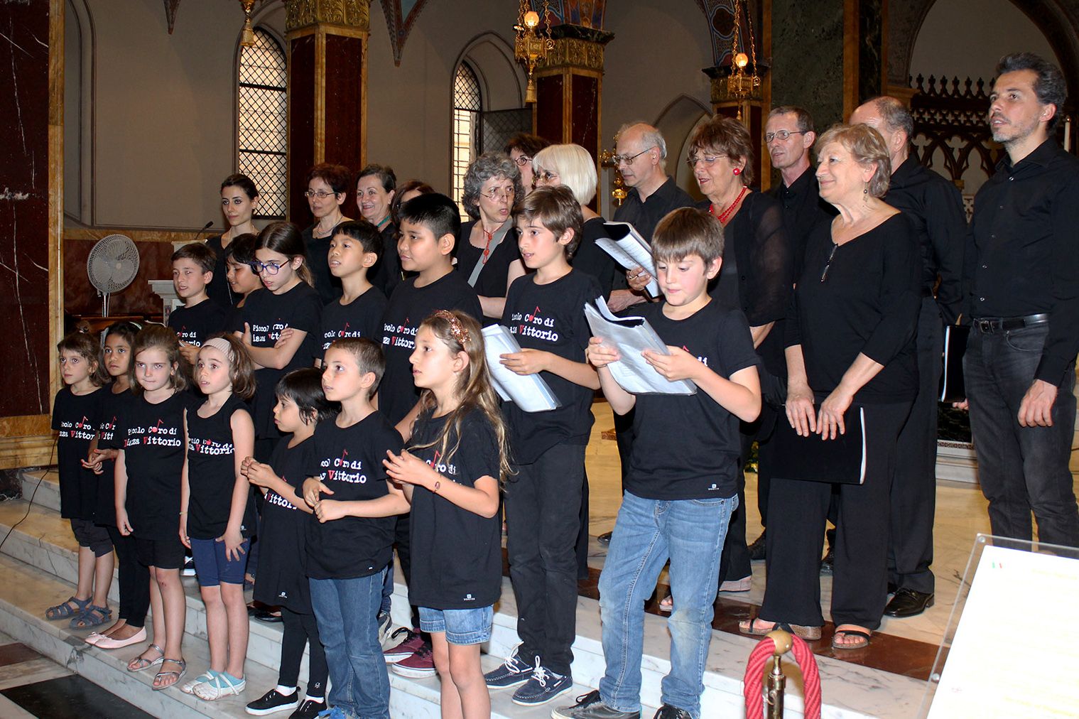 Jubilee Conclusion04 16.06.2016_Choir by Children