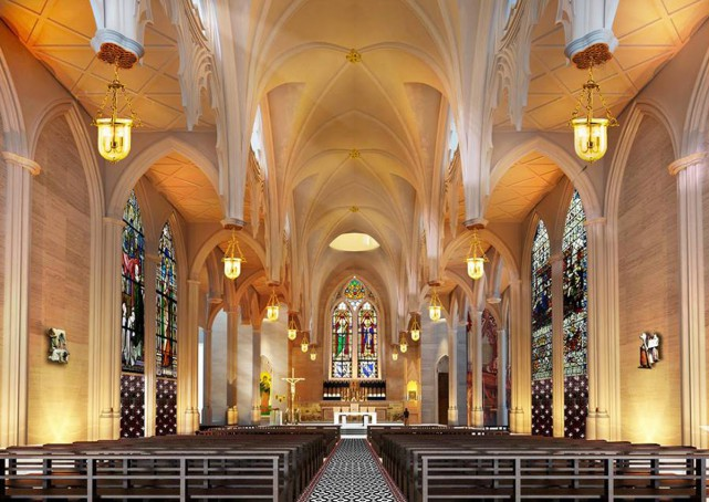 new novena church surprises many with grand look
