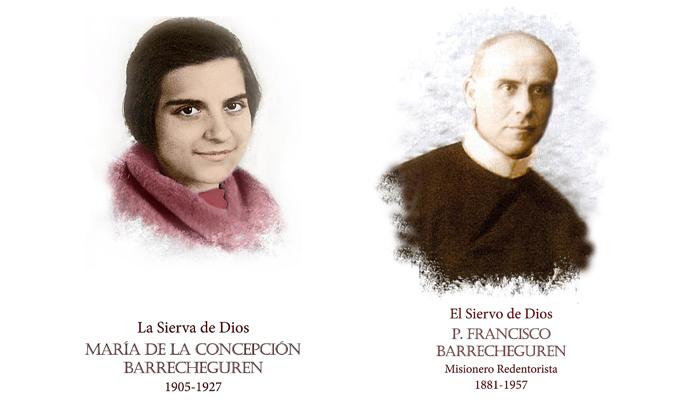 Conchita Barrecheguren and Fencesco Barrechegure
