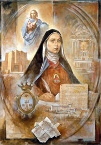 Lomuscio G. A., Crostarosa fondatrice (poster)