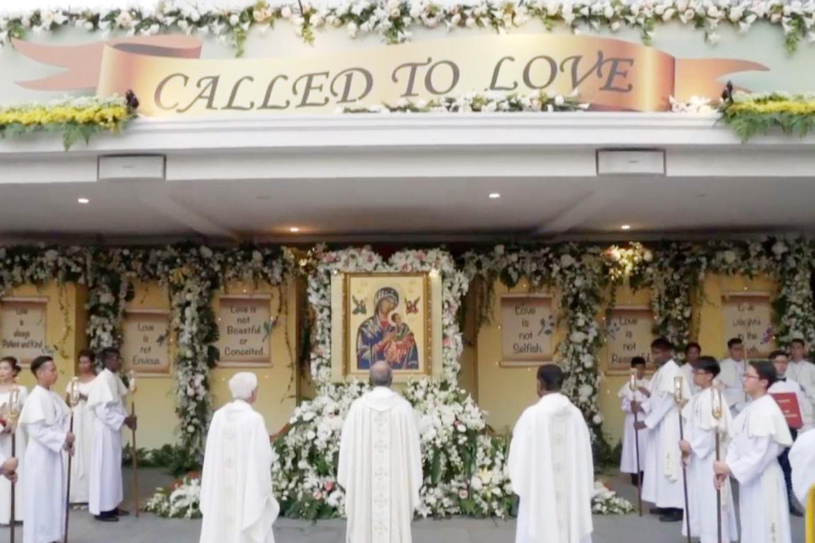Resultado de imagen de Our Lady of Perpetual Help singapore